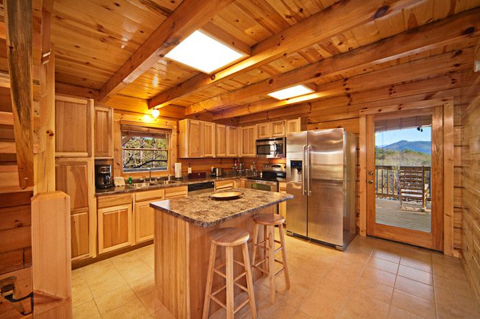 Cabin with Stainless Steel Kitchen Appliances - Apache Sunset