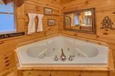 Private Jacuzzi Tub in 2 bedroom cabin