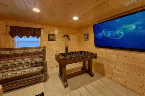 2 Bedroom Çabin with Game room and foosball - April's Diamond