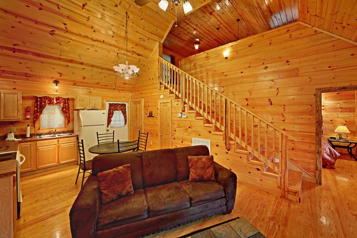 Cabin with Loft - At Trails End