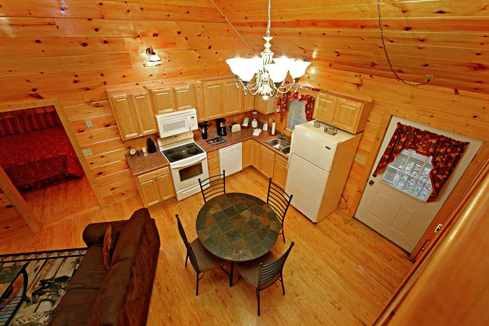 Cabin with Fully Equipped Kitchen - At Trails End