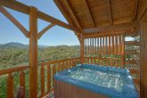 Private Hot Tub with a View 3 Bedroom Cabin