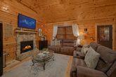2 bedroom cabin with sleeper sofa