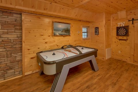 5 Bedroom Cabin with Air Hockey Table - Bar Mountain