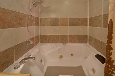 Large Jacuzzi in the Master Bath - Bar Mountain