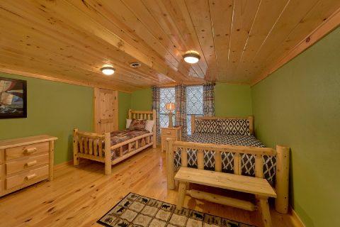 Full and Twin Bedroom Sleeps 17 Near Gatlinburg - Bar Mountain