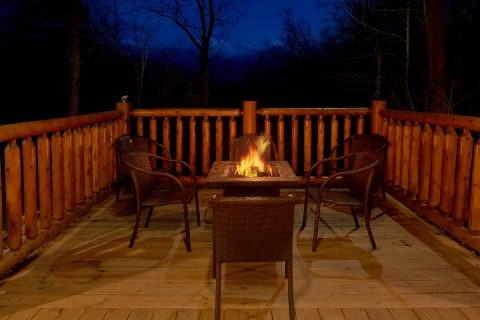 Luxury Cabin with Fire Pit - Bar Mountain