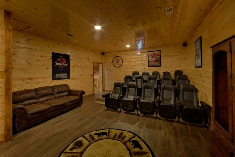 Private 5 Bedroom Cabin with Large Theater Room - Bar Mountain