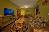 Premium 5 Bedroom Cabin with Futon and Large TV