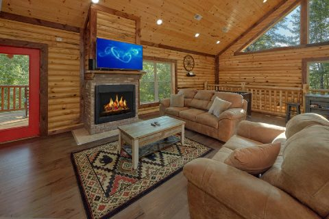 Luxury 5 Bedroom Cabin with Gas Fireplace & WiFi - Bar Mountain II