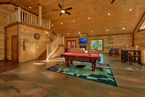 Private 5 Bedroom Cabin with Pool Table - Bar Mountain II