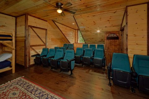 Large Theater Room with Seating for 16 - Bar Mountain II