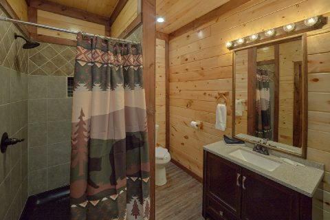 Full Bathroom with Shower - Bar Mountain II