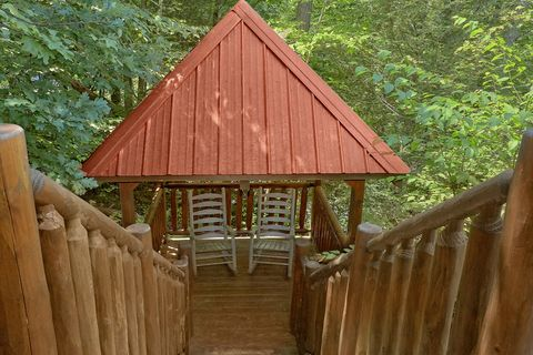 Private 2 Bedroom cabin with Gazebo and View - Bar None