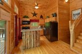 Fully Equipped Kitchen in Smoky Mountain Cabin