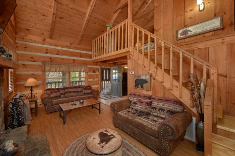 Cozy 1 Bedroom Honeymoon Cabins Sleeps4 - Bare Kissin And Huggin