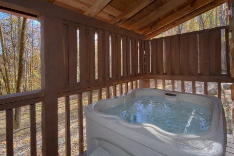 Private Hot Tub 1 Bedroom Cabin Sleeps4 - Bare Kissin And Huggin