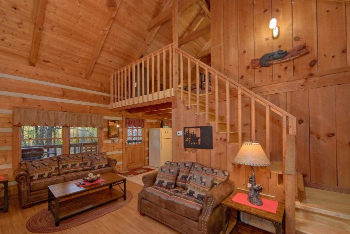 1 Bedroom Honeymoon Cabin Sleeps 4 - Bare Tubbin