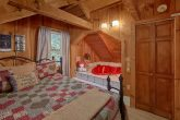 Heart Shape Jacuzzi Tub 1 Bedroom Cabin