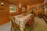 Rustic 3 Bedroom Cabin with Large Dining Room
