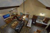 Large Open Space 2 Bedroom Cabin Sleeps 6