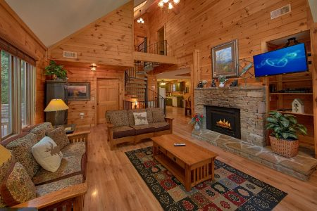 A Hop Skip and a Jump: 4 Bedroom Pigeon Forge Vacation Home Rental