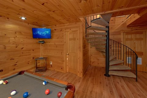 Gatlinburg 4 Bedroom Cabin with Flat Screen TV's - Bear Crossing