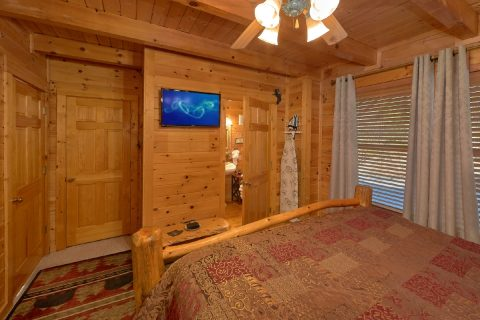 Flat Screen TV Main Floor Bedroom - Bear Heaven