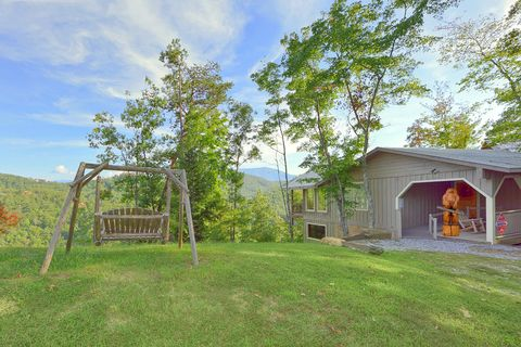 Smoky Mountain Cabin with Scenic Mountain Views - Bear Hugs
