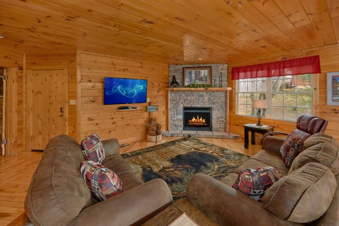 1 Bedroom Cabin with a Spacious Living Room - Bear Hugs