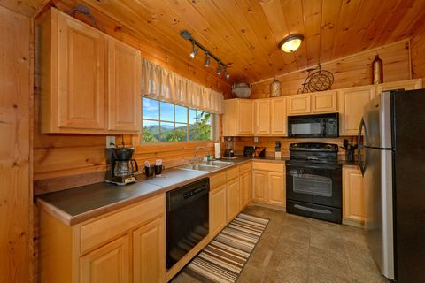 Luxurious 1 Bedroom Cabinwith Open Kitchen - Bear Hugs