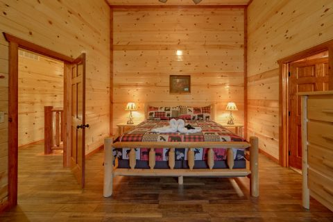 6 Bedroom with 2 Master Suites with Jacuzzi Tubs - Bear Paddle Lodge
