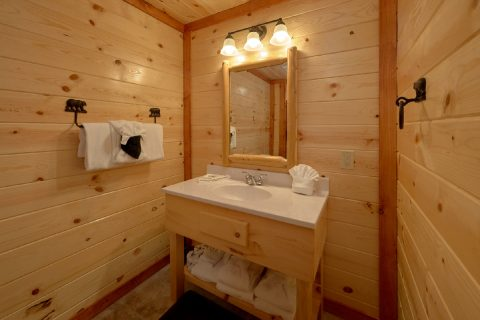 6 Full Bath Rooms and 2 Half Baths - Bear Paddle Lodge