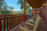 6 Bedroom Cabin Rocking Chairs on Cover Deck