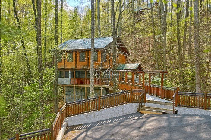 Bear Paw Bridge Cabin Rental Photo