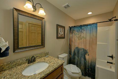 Full Bathroom on the Main Level - Bear Paws
