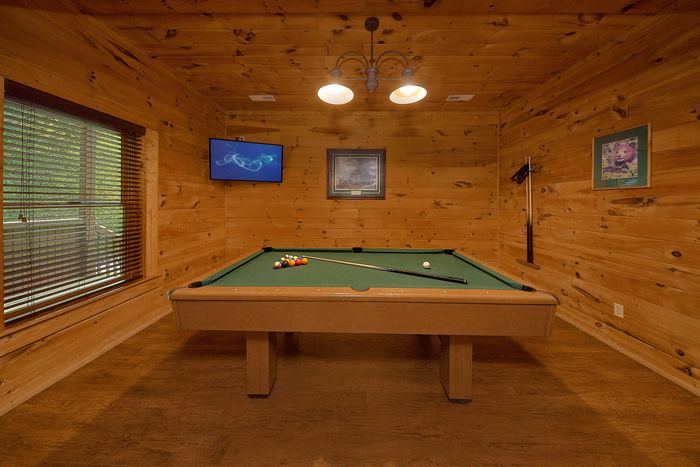 Cabin with Rocking Chairs on Deck - Bear Shack