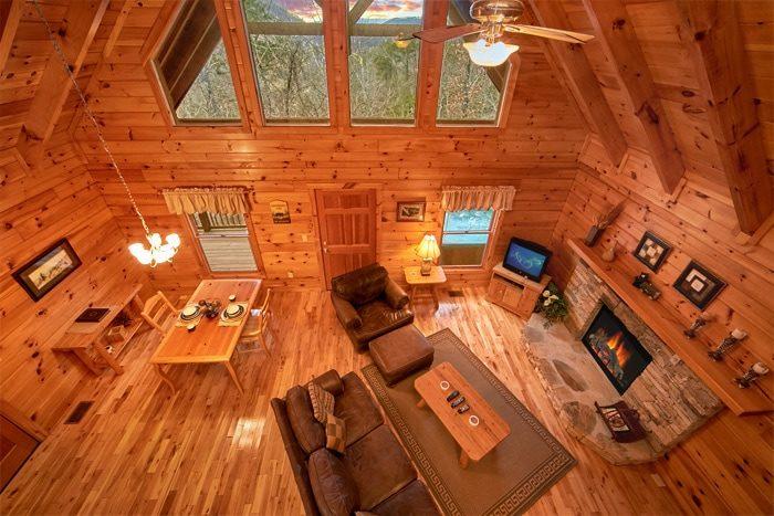 1 Bedroom Pigeon Forge Cabin | Bearadise