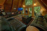 Bearadise Lodge 12 Cabin Bedroom