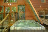 Outdoor Pool Spa 12 Bedroom Cabin