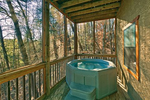 Cabin with Hot Tub for Two - Bear-E-Nice