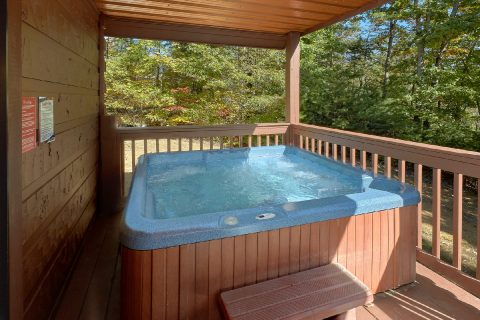 Private Hot Tub 3 Bedroom Cabin Pigeon Forge - Bearfoot Dreams