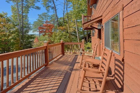 Large Spacious Decks with Rocking Chairs - Bearfoot Dreams