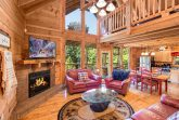 Smoky Mountain Cabin with Gas Fireplace
