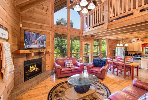 Smoky Mountain Cabin with Gas Fireplace - bearHAVEN