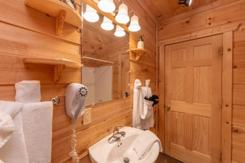 Lower Level Full Bathroom - bearHAVEN