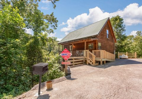 Private 3 Bedroom Cabin with Charcoal Grill - bearHAVEN