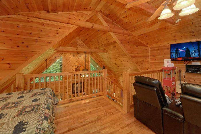 Loft Bedroom and Game Rom Sleeps 6 - Bear'ly Makin' It