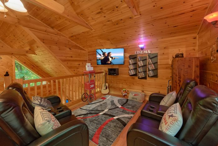 Theater Room in Loft Game room - Bear'ly Makin' It