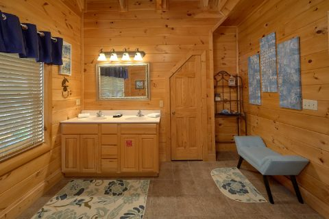 Master Bedroom with Connecting Full Bathroom - Bearly Rustic